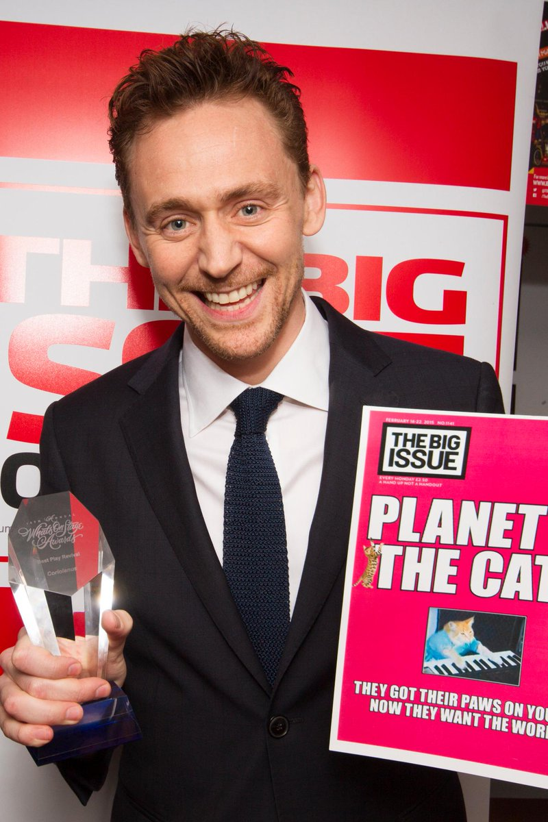 Well #TomHiddleston fans & more - check our galaxy of stars gallery from @WhatsOnStage awards http://t.co/iRq3zzE8zu http://t.co/h0BFd2TFHz