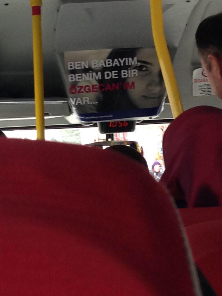 Minibüs şöförleri de yüreklidir. Helal olsun size #ozgecaniçin http://t.co/3sefM5vwHe