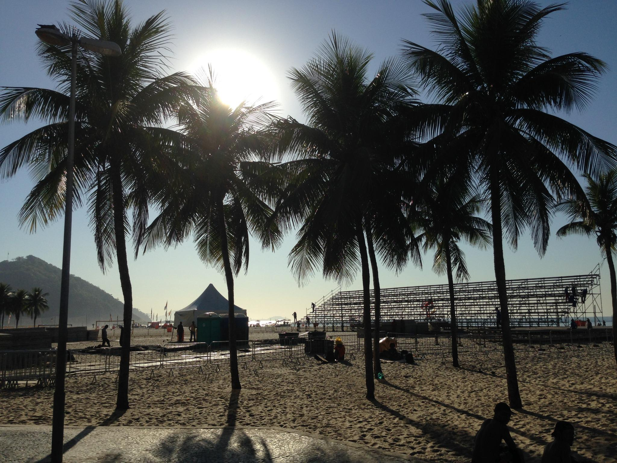 We're headed to Copacabana Beach next week with the top @USAVBeach names to face Brazil! Follow the journey #USAvBRA http://t.co/yLpCuiUb8o