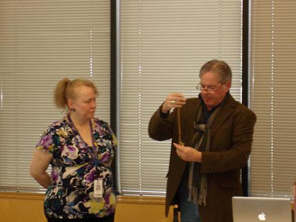 """Nothing worth $$$$$$$ at Shakopee Library's """"What It's Worth"""" event w. Mark Moran but everyone enjoyed the show. http://t.co/cLpdrHb6sU"""