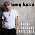 RT @ClubCafeLive: Tony @luccadoes' #paintapicture tour hits here on SUNDAY! Get your tickets now: http://t.co/78LhMbPofu http://t.co/MDDIge…