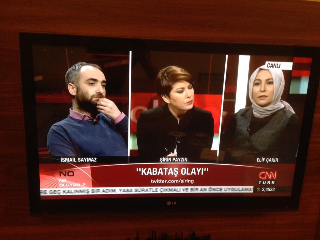 """İsmail Saymaz, Elif Çakır'ın yaşama sevincini aldı:) """"Kabataş'taki yalancı Zehra olayından dolayı yargılanacaksınız"""" http://t.co/lVC8GVBSCS"""
