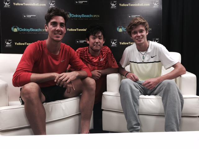 .@TKokkinakis, #Nishioka and @AndreyRublev97 win - first time since '07 Indy 2R #ATP 32 draw includes three teens. http://t.co/t11PJufoSA