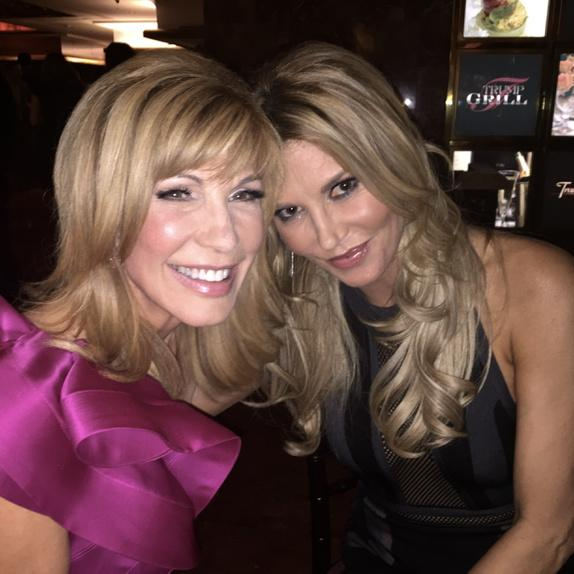 Celebrating with @BrandiGlanville from @ApprenticeNBC who was THE definition of friend during the show! Thanks Brandi http://t.co/bY1dJWxlX4
