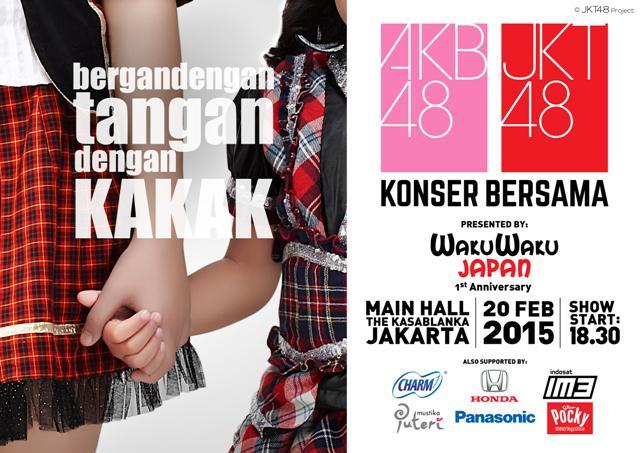 Mana fansnyaJKT48 & AKB48? :D Yuk, dateng ke Konser JKT48 & AKB48, 20 Februari 2015 di Mall Kota Kasablanka http://t.co/omX9OHTBOe