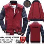 """@rikaakaa2 Follow @DesainSoccer ada """"Jaket Ac Milan Varsity"""" Baru. Promo. CP 085763062366. Pin 26C48675 http://t.co/hPdMmXpmUS"""