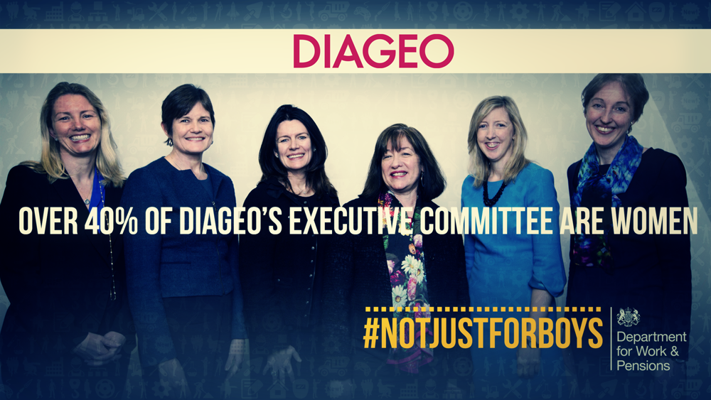 Over 40% of our Board members and 40% of our Executive Committee are women @DWPgovuk #NotJustForBoys http://t.co/hTvnsw4iI4