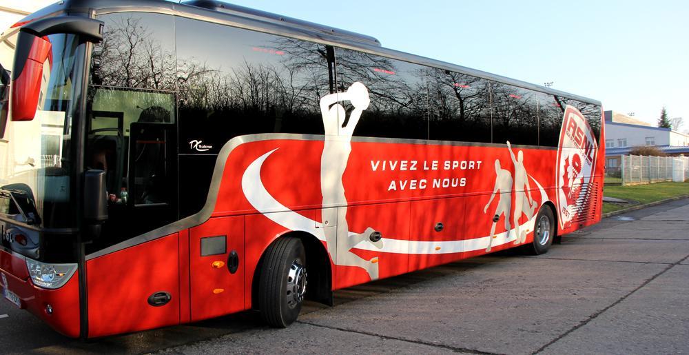 Montez dans le nouveau bus de l 39 asnl video - Bus lyon nancy ...