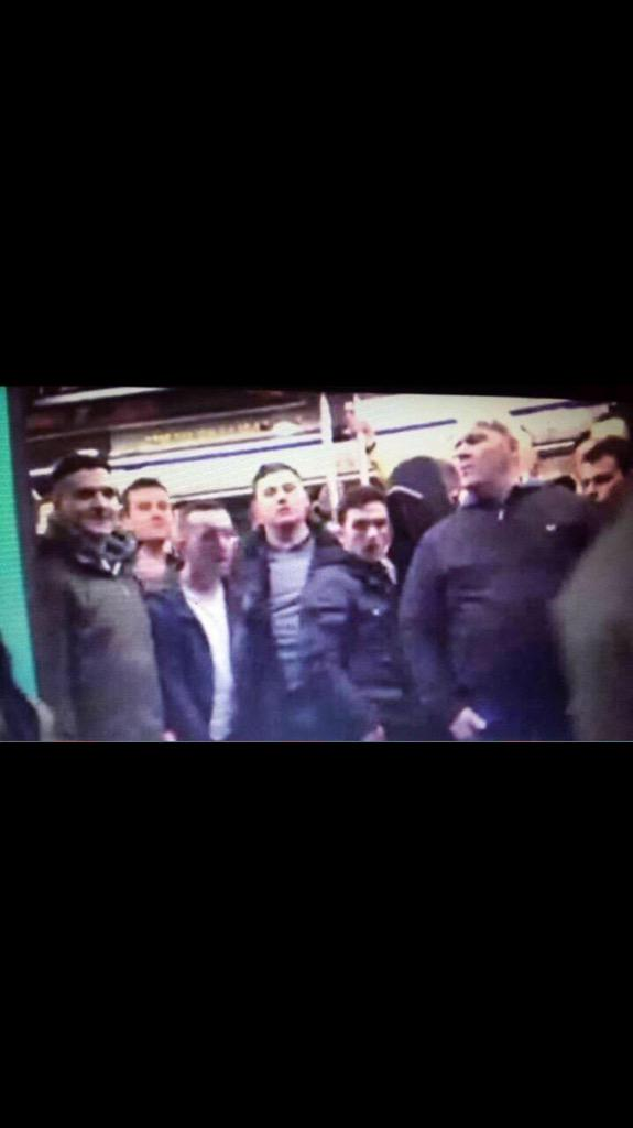 If you do one good thing today.. RT or Favourite these racist, scumbag Chelsea fans. Lock em up.. Muppets.