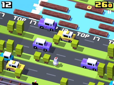 Why did the chicken... The Making Of @CrossyRoad http://t.co/bMuMmoT78b http://t.co/SuQvJAAqah