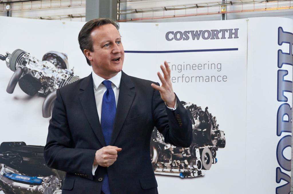 Here's the full story on the Prime Minister's visit to Cosworth today @Number10gov -  http://t.co/Ie1mpOiRQ2 http://t.co/5P1H3W9n2o