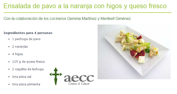 Sabíais que la #AECC tiene un listado de #recetas saludables? Consulta la receta de temporada: http://t.co/hl2eRmy3WE http://t.co/CIWDBvTdCi