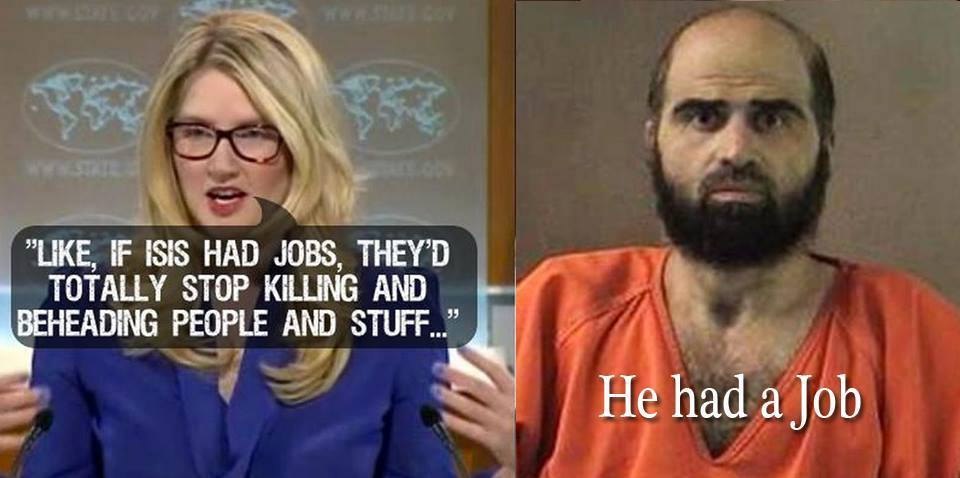 Impeach them w/their own BS!  RT @Blacksmith222:  #JobsForISIS http://t.co/Yi3PfY1Xv6 // @StateDept has ZERO CRED left! #ISIS #RadicalIslam
