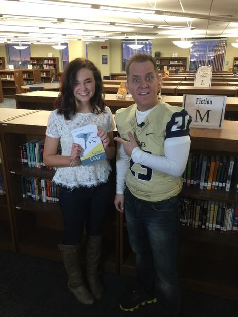 Published writer @macilouwho she's a Junior at Southmoore!!! awesome!  I can't even write a wrong @OKCFOX http://t.co/7gGhCcEGV5
