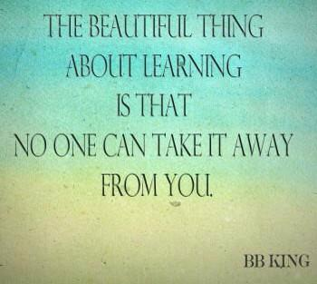 """"""".@TataK111: The beautiful thing about learning is... #EnjoyTheRide #TeamBossyGals http://t.co/63QgYnn8MX"""""""