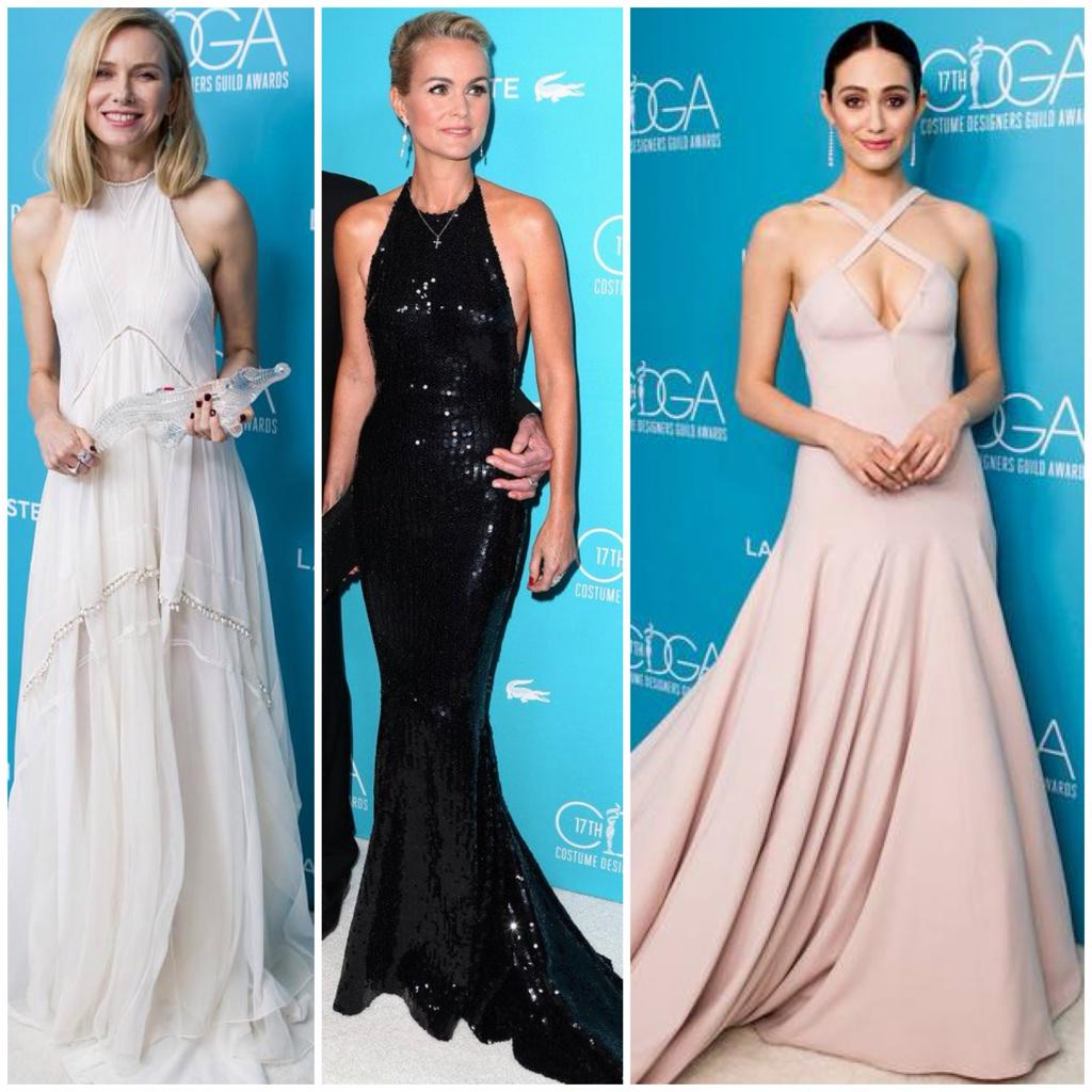 #KillerFashion #BestDressed at  Costume Awards http://t.co/xKPCqeJdNC #CDGA17 So many more gorgeous gals on the list! http://t.co/fGNwlo6y5g