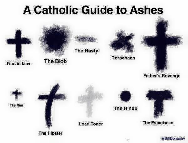 A Catholic Guide to Ashes #AshWednesday http://t.co/L6kEaORGRu