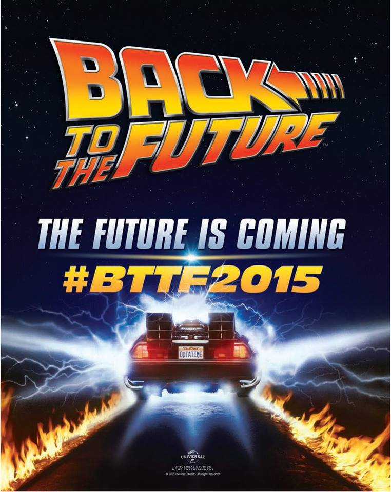 The future is coming. #BTTF2015 http://t.co/tiSpwuAGAu