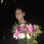 Gabe Saporta at his wife's fashion show at Lincoln center @erinfetherston http://t.co/DliRWJJguN