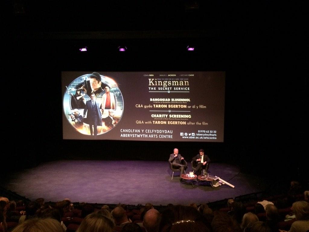 Well that was fun. @KingsmanMovie second time round is even better.  Such a great cast from to bottom of the credits. http://t.co/Ax2Rc04KPV