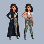Testing out new looks for Kim Kardashian Hollywood!!! What do you guys think? http://t.co/6a6OgHRdIF