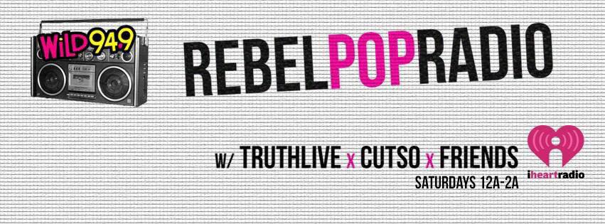 And so it begins... #RebelPopRadio with @TRUTHLiVE and @cutso! @RebelPopRadio #rpr http://t.co/6BXEsezlOm