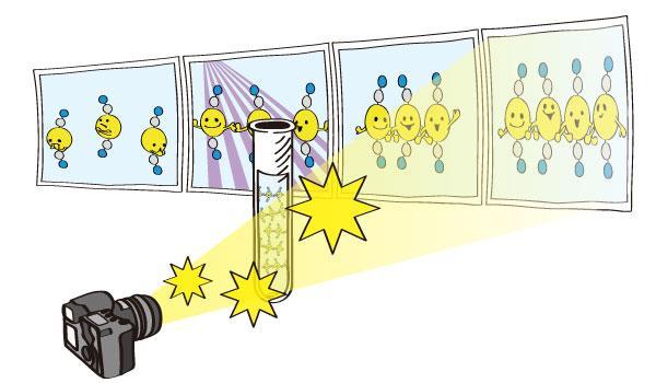 【プレスリリース】原子同士が結合して新しい分子が生まれる瞬間をX線によってストロボ撮影 http://t.co/3e6p4IWJmM 人工光合成技術を推進する新しい分子動画撮影法を開発 http://t.co/XechHsVdU9