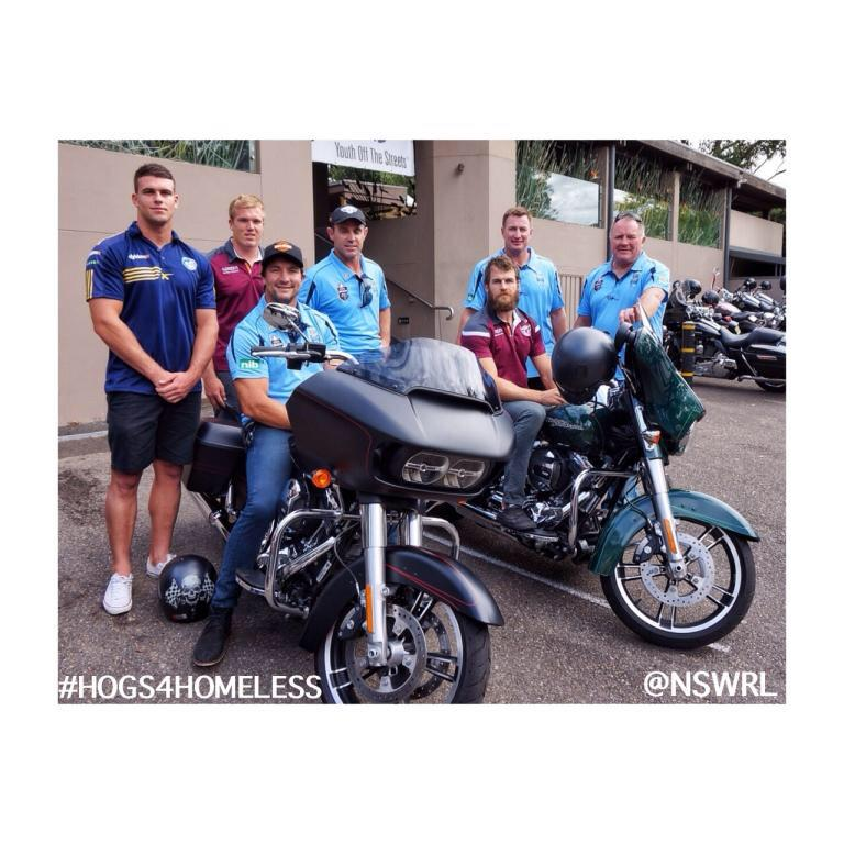 Supporting #Hogs4Homeless launch tonight. Go to http://t.co/iY1wivNaak for a chance to win a Harley! @YOTSAustralia http://t.co/VmtrhTEoDE