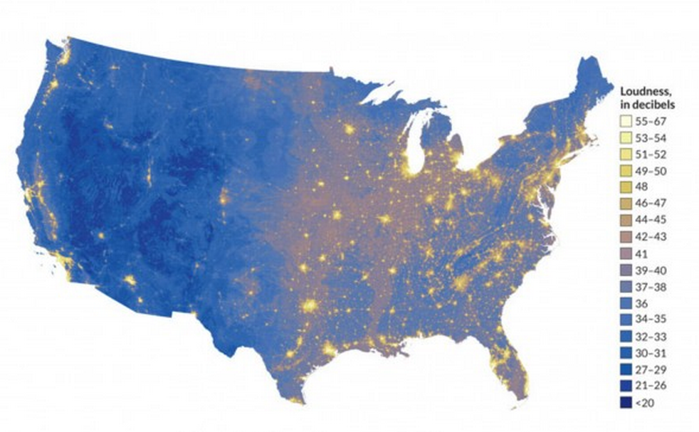 New map shows America's quietest places.  http://t.co/2NYNmIryVi http://t.co/1mg4pcuxvi