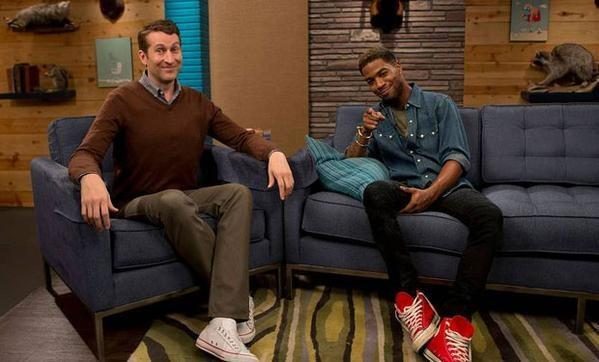Very pleased to welcome my next co-star, partner & bandleader on @ComedyBangBang, hip-hop star @KidCudi! #cbbtv http://t.co/19o0fbtk7H