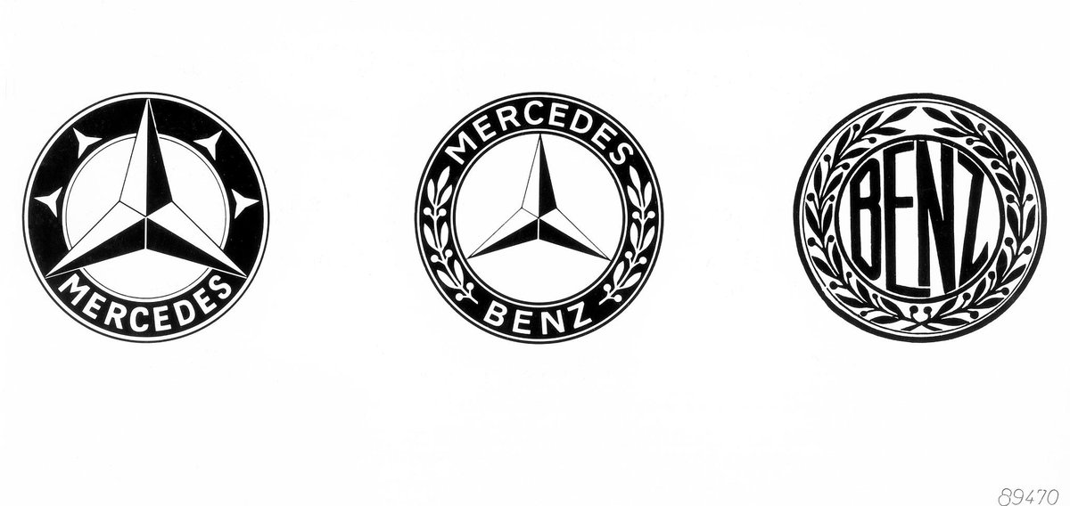 The birth of an icon. – The @MercedesBenz #trademark from February 1925. http://t.co/ydE5LHQinJ