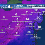 RT @dougkammerer: WOW, not Wind Chills, but current temperatures! #COLD http://t.co/67XZWTNe1O
