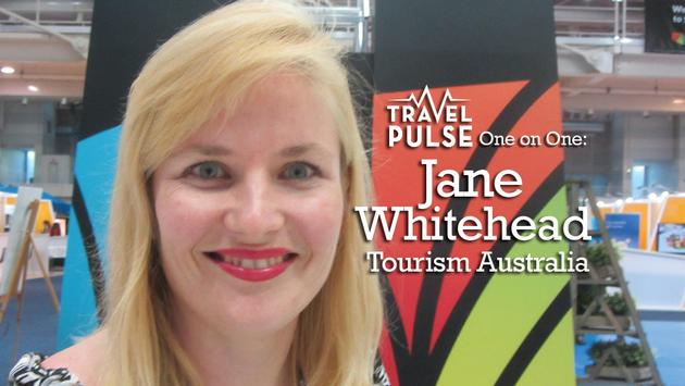 1 on 1 with Jane Whitehead, Tourism Australia @TourismAus @JRuggia1