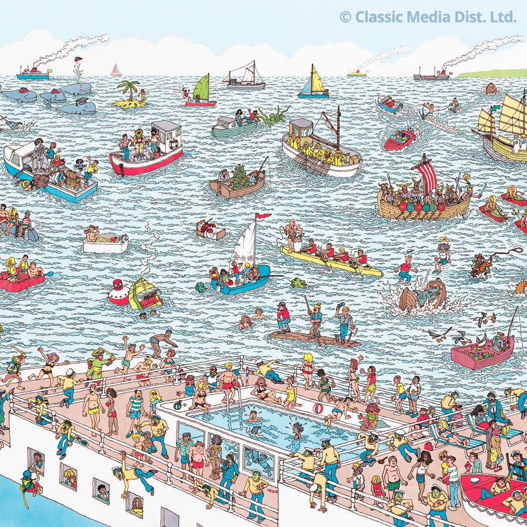 Take a dive and earn your stripes. #WheresWaldo http://t.co/KNRSRtqmvt