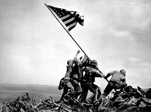#OnThisDay 70 year ago, US 5th Marines hit #IwoJima. http://t.co/uwWpGUjabS http://t.co/werPjuxIRK