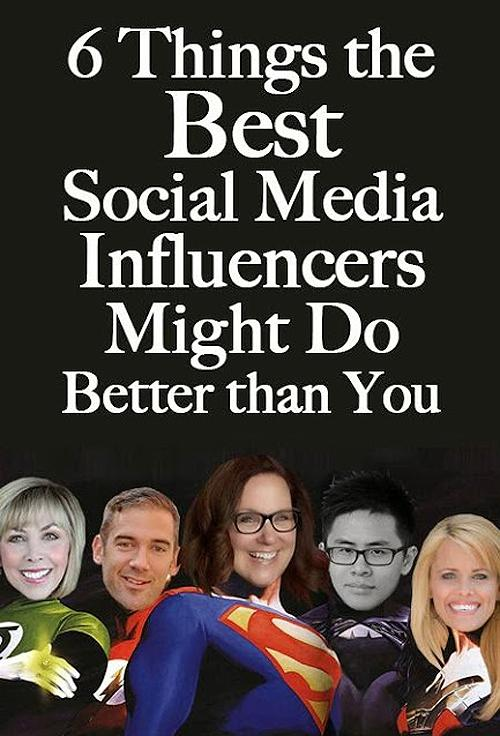 6 Things the Best Social Media Influencers MIGHT Do Better than You ~ http://t.co/AoWLpaGBrx (on @PostPlanner) http://t.co/ROUOsevPRS