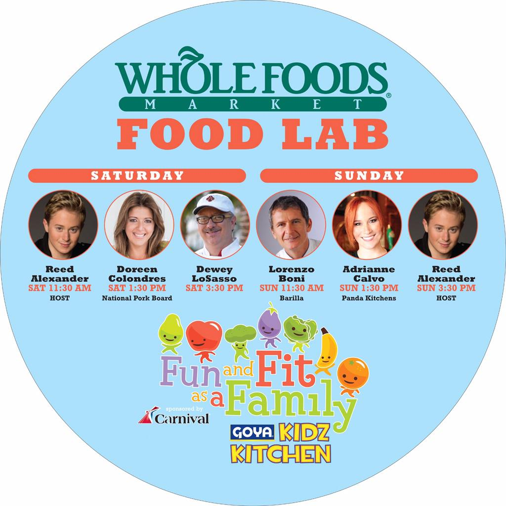 Cooking this Saturday with @PorkTeInspira #SOBEWFF #Family #Fun & #Fit See you @jungleisland #kids #cooking #recipes http://t.co/XZ3zMf6SF2