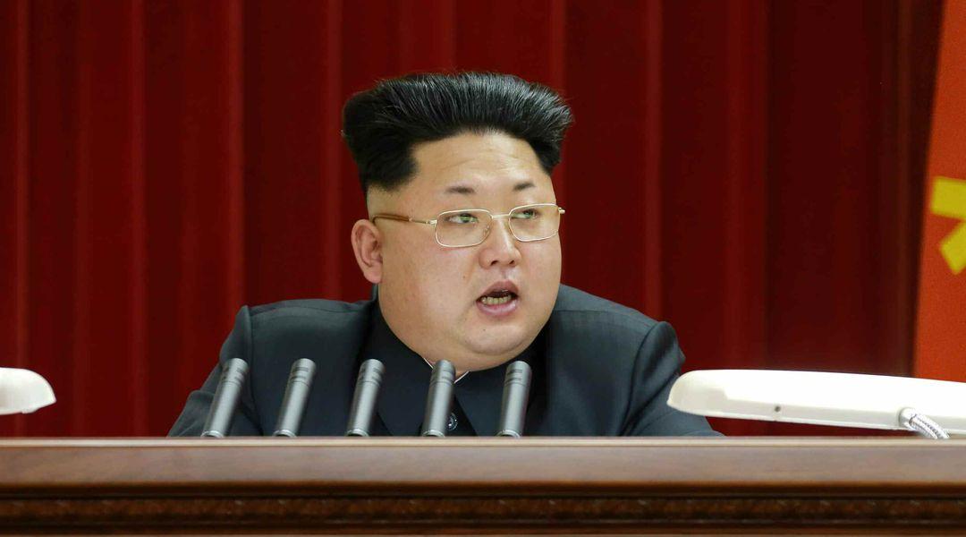 金正恩氏がヘアスタイルを一新