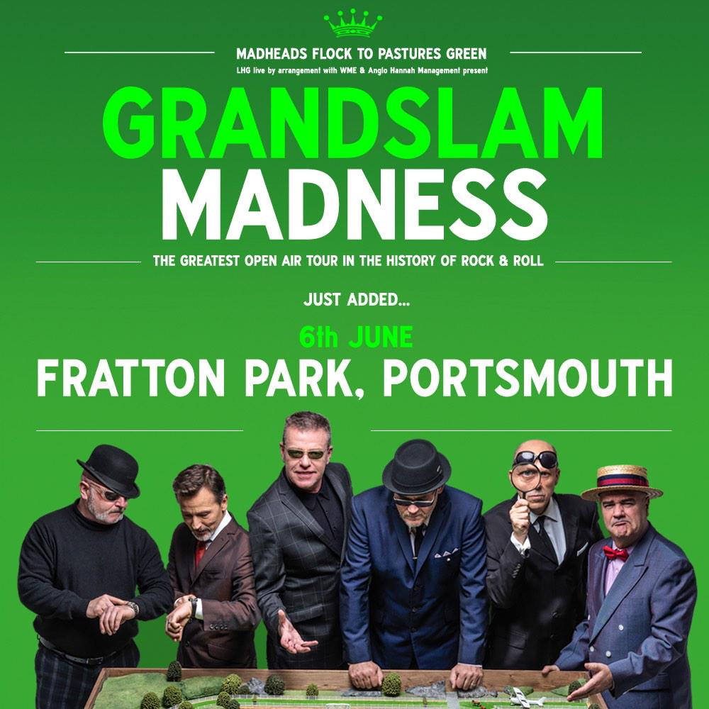 It's official, #GrandslamMadness tickets for Portsmouth go on sale at 9am Friday here: http://t.co/nEYRM0RfeE http://t.co/k1Egx6HRCb