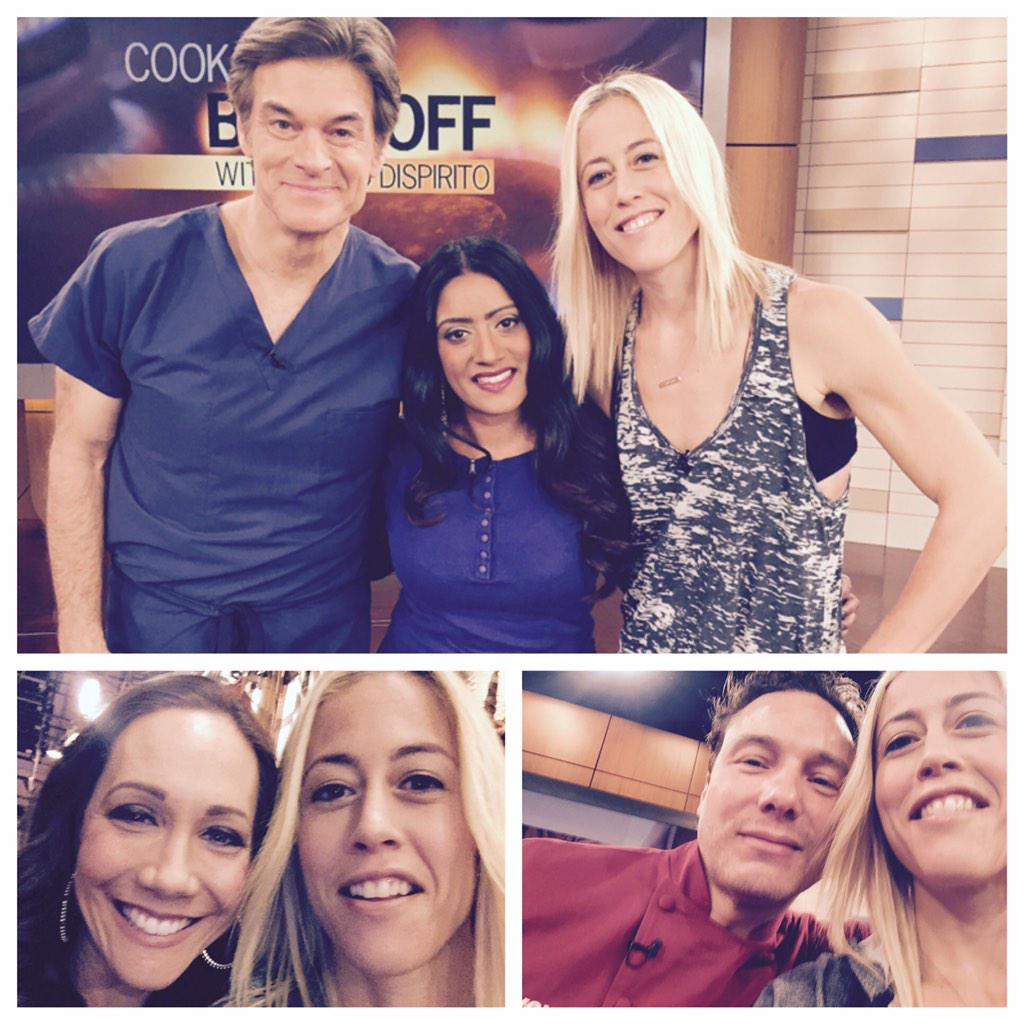 EXCITED to be on @DrOz Today w/ these awesome experts @JeneLuciani & @roccodispirito #teamlacey http://t.co/FRdkzlxGUY