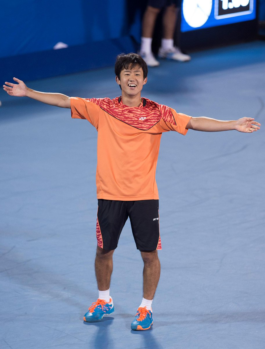 .@yoshihitotennis advances to first @ATPWorldTour quarterfinal at #DelrayBeachOpen. #DelrayBeachTennis #DelrayTennis http://t.co/6lb3ubYzep