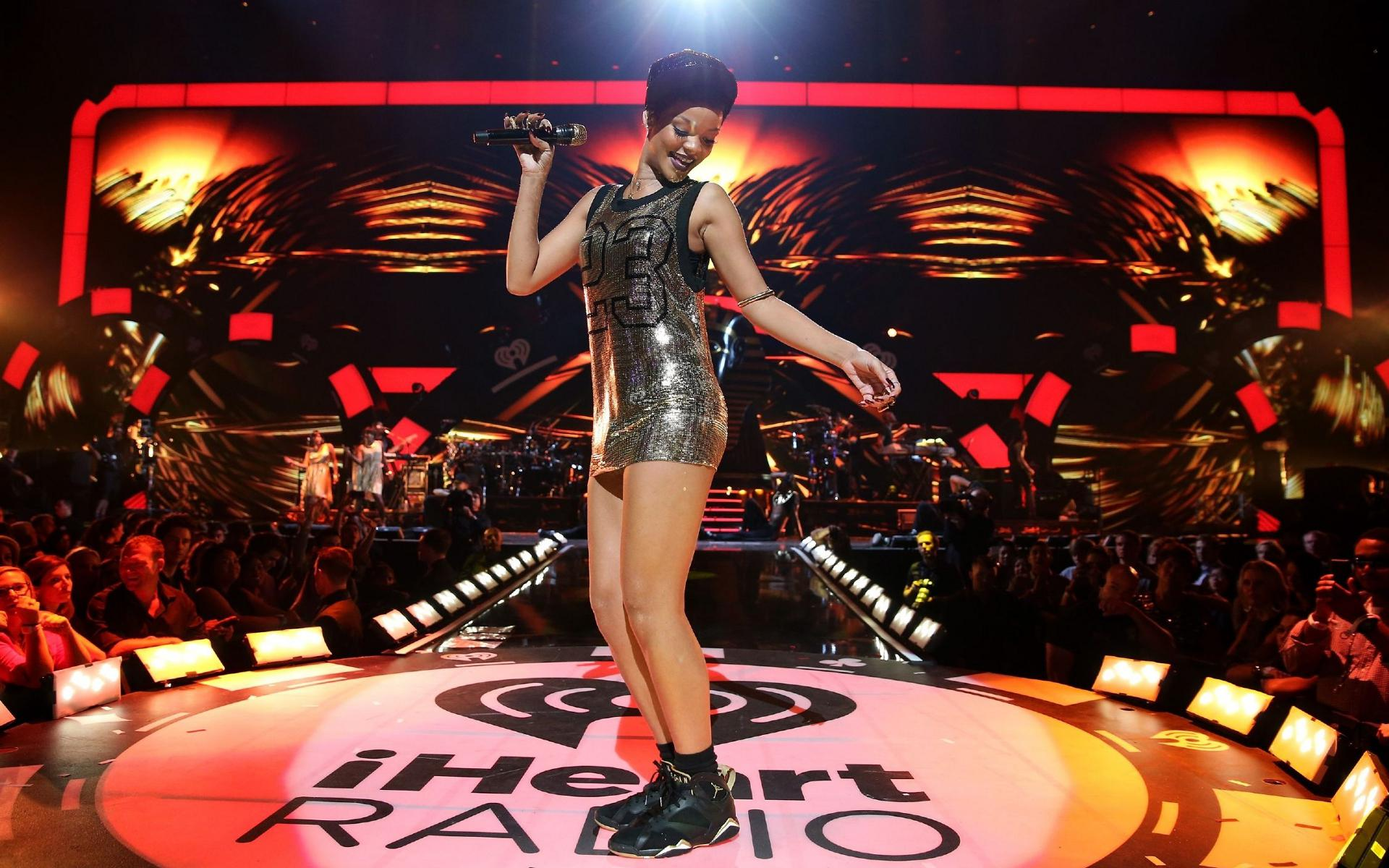 Happy birthday, Throwback to her at the iHeartRadio Fest - 2012! Listen to her HERE: