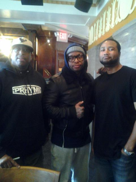 Holding court w/ hip hop royalty. Thx for the convo and hospitality @REALDJPREMIER & @Royceda59 http://t.co/vvixW3xuQM