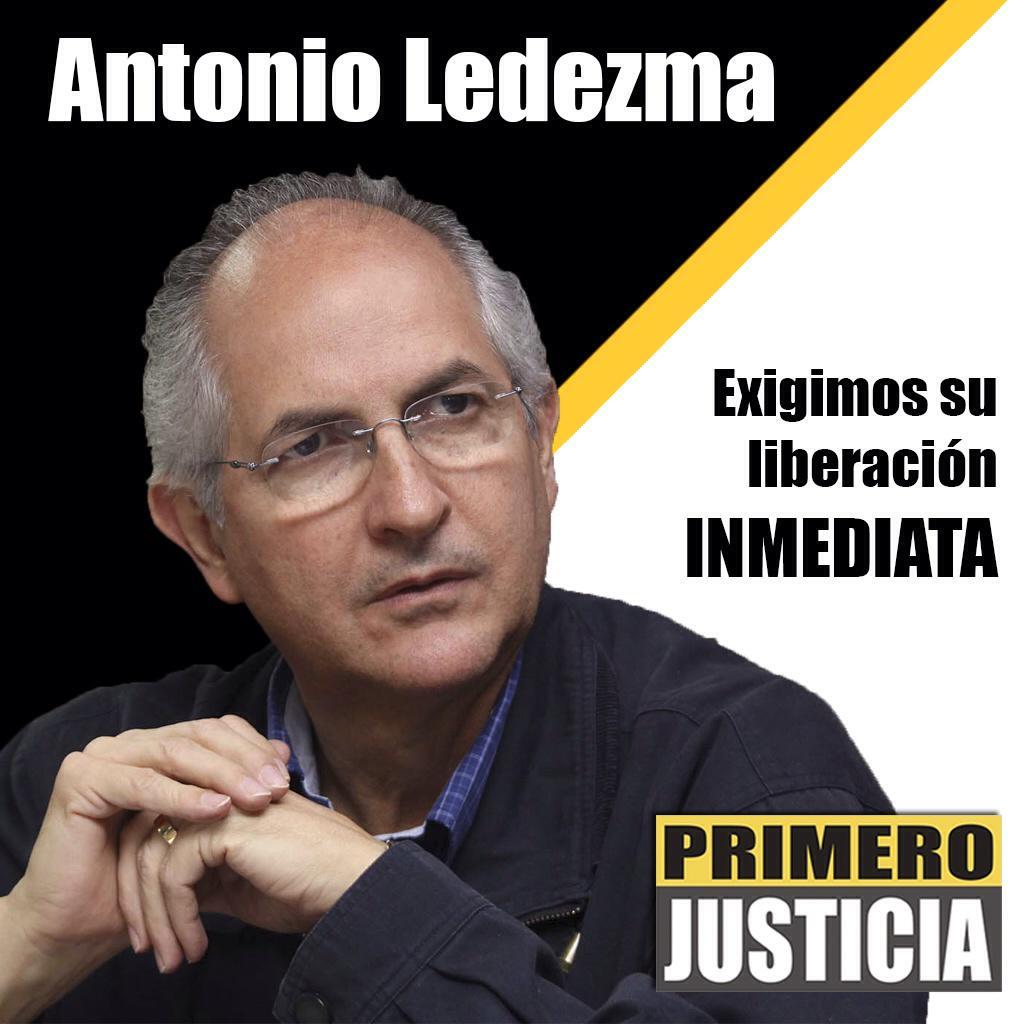 Desde @Pr1meroJusticia rechazamos detención ilegal de @alcaldeledezma y exigimos su liberación inmediata http://t.co/mciccRvr9t