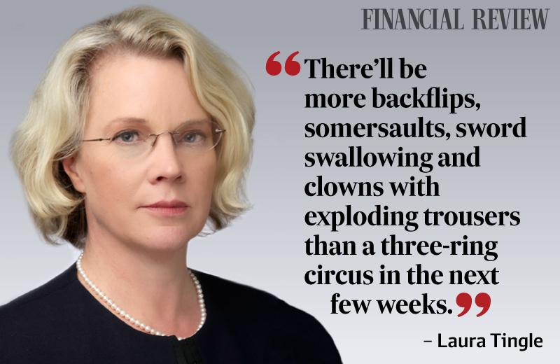 .@TonyAbbottMHR & @JoeHockey walk tightrope as debate becomes circus, says @LaTingle. #auspol  http://t.co/VPK2IaaYyx http://t.co/lkhdynMygQ