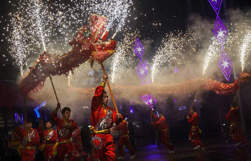 Happy Lunar New Year! See photos of how cities in China and Taiwan are celebrating