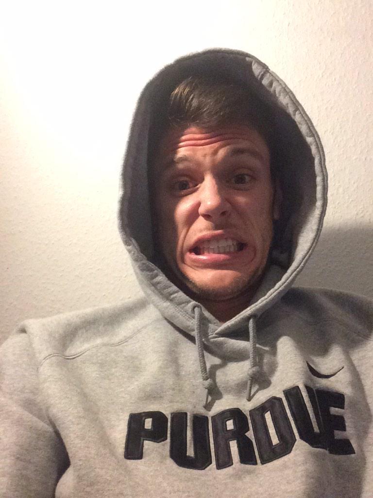 My face after Octeus took flight! #Facial #SCTopTen #BoilerUp #Nasty http://t.co/URN7m9K0ak