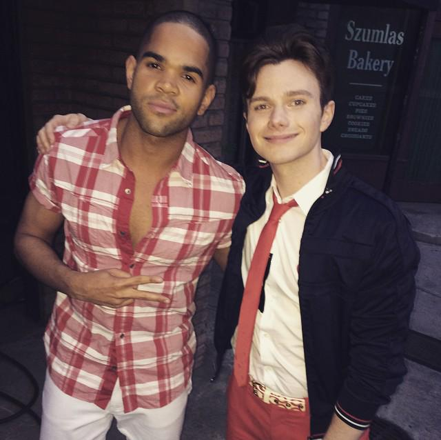 One of the most genuine & consistent ppl.. @chriscolfer #glee #goodmemories http://t.co/VNIxUWycEM