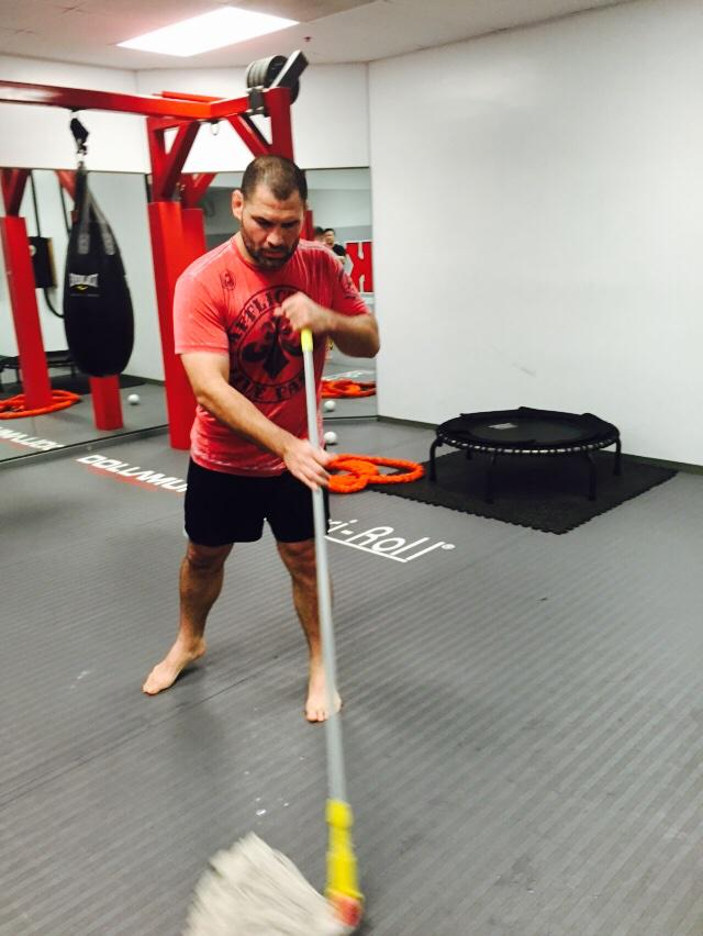 8 plus years and the Champ @cainmma  still cleans his mess