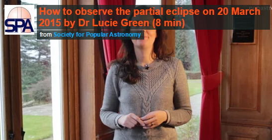 Watch our Chief Stargazer Dr Lucie Green describe safe ways to view the Mar 20 solar eclipse: http://t.co/QlrnkKLLId http://t.co/8hlsCOTUT9